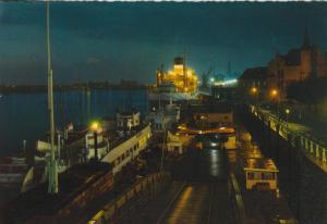 Antwerpen v. 1965 Die Schelde bei Nacht mit Sondermarken  (56802)