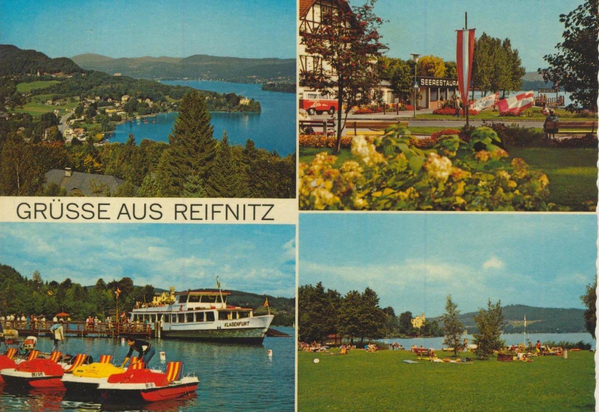 Reifnitz v. 1974  4 Ansichten u.a. Seerestaurant  (56818) 0