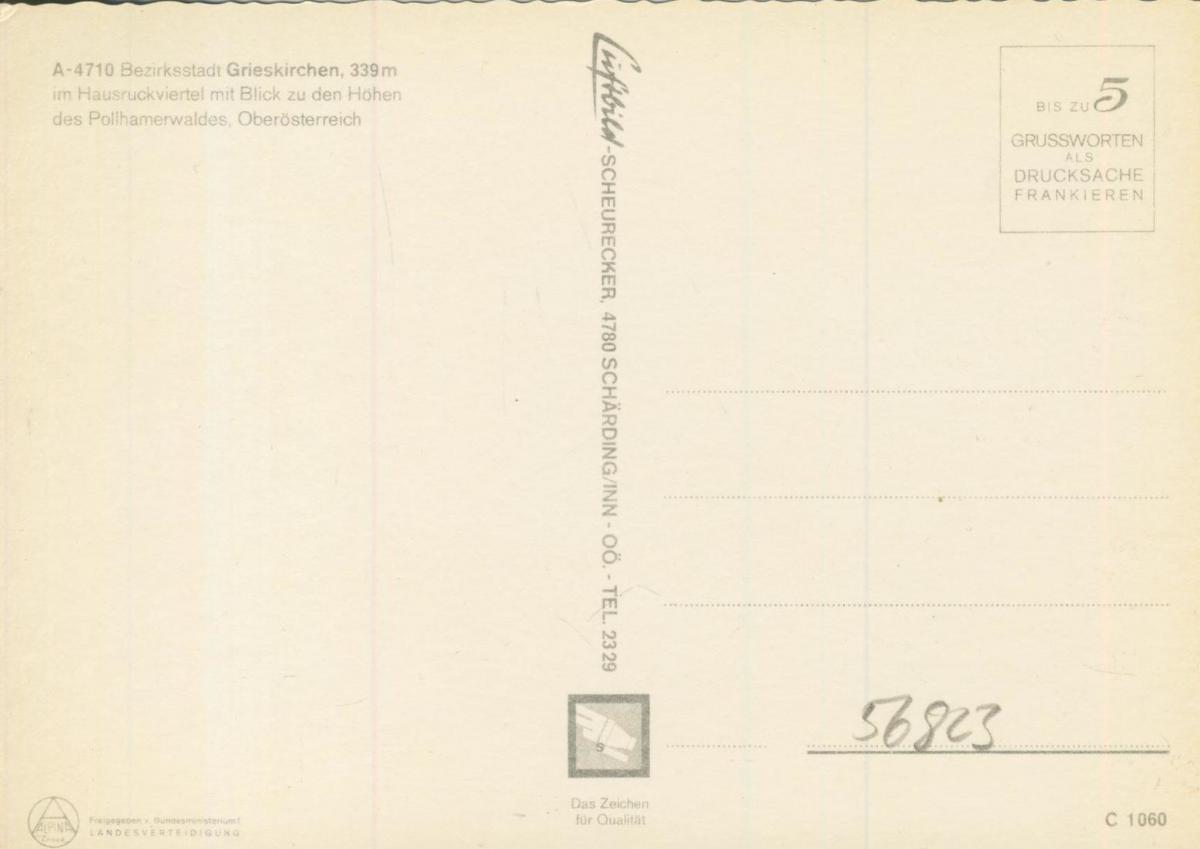 Wieselburg an der Erlauf v. 1974  Luftaufnahme - Dorfansicht  (56823) 1