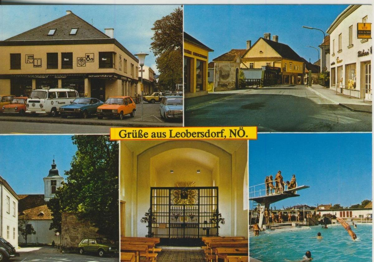 Bludenz v. 1974  Postplatz mit Hotel Post  (56825) 0