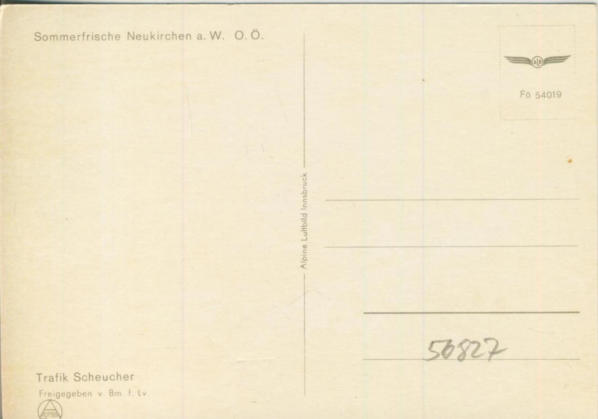 Wien v. 1968  2 Ansichten vom Flughafen  (56827) 1
