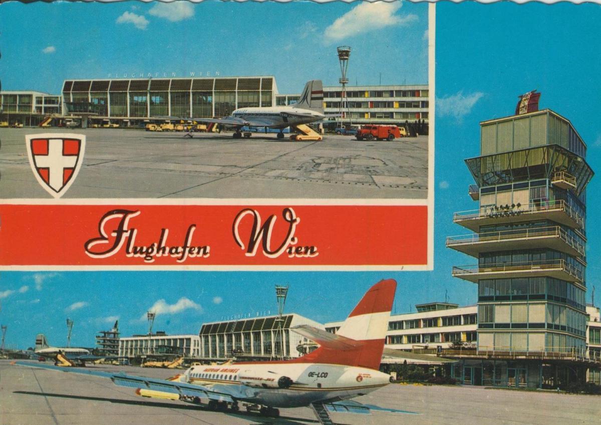Wien v. 1974  Flughafen Schwechat  (56828) 0