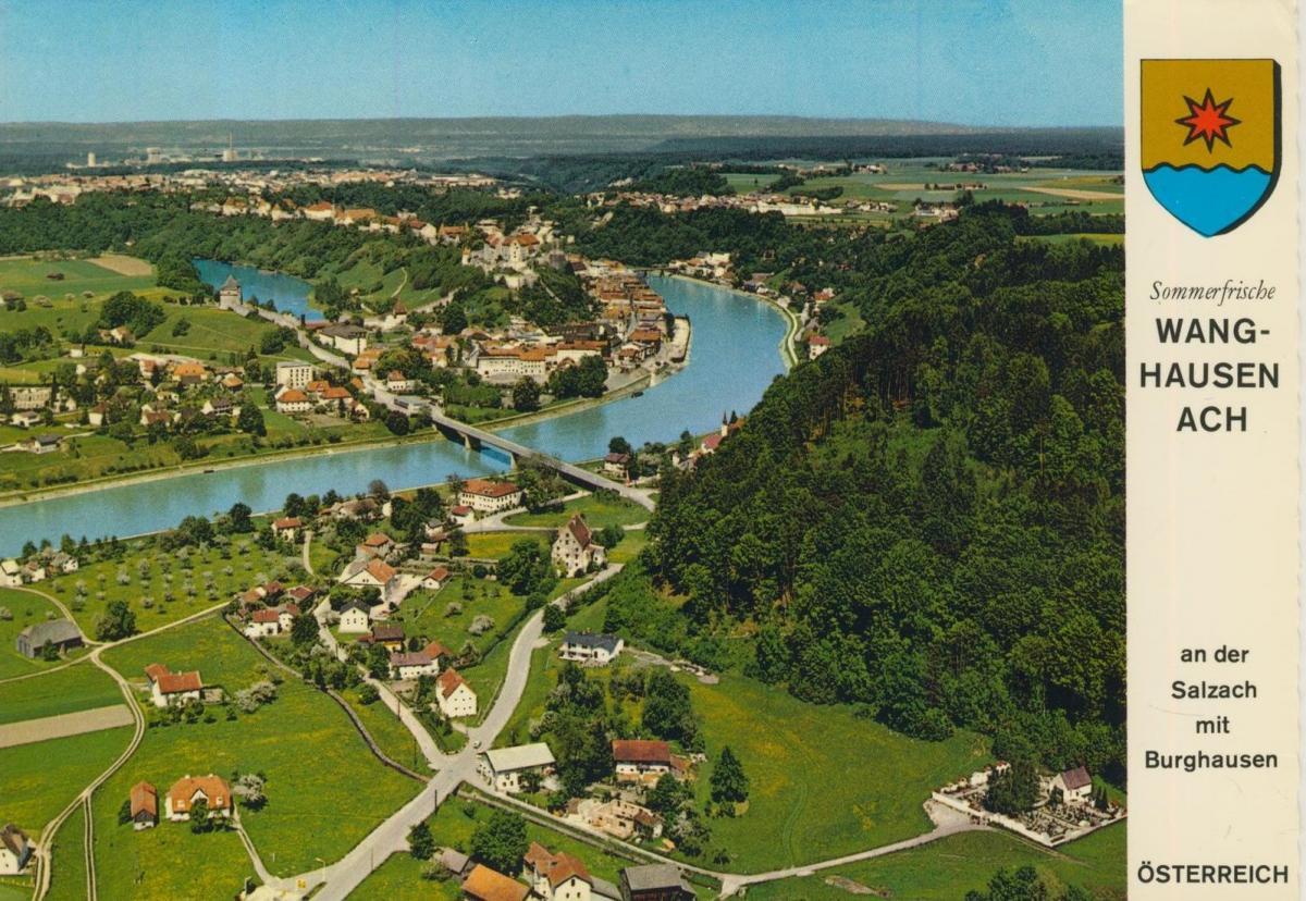 Wanghausen-Ach v. 1974  Dorfansicht  (56847) 0
