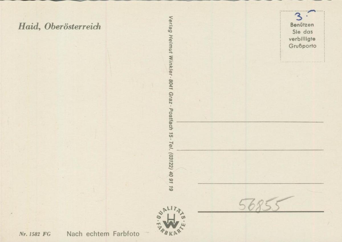 Haid v. 1974  Luftaufnahme - Dorfansicht  (56855) 1
