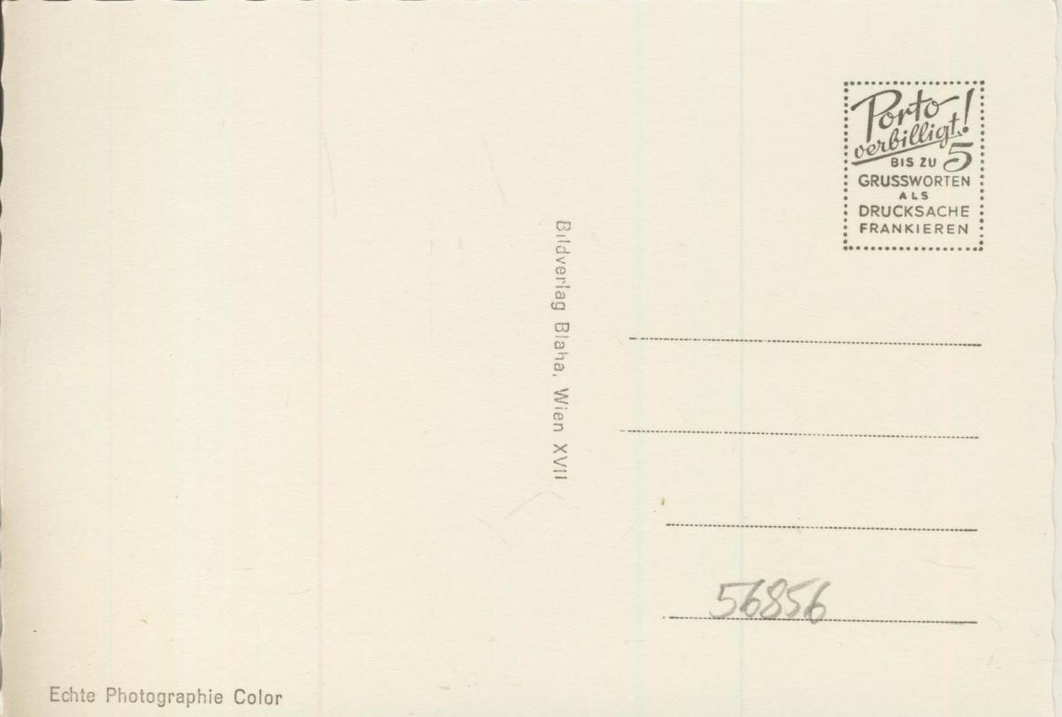 Alpengasthof Bruggraber v. 1968  5 Ansichten von Peter Rosegger 1843-1918  (56856) 1