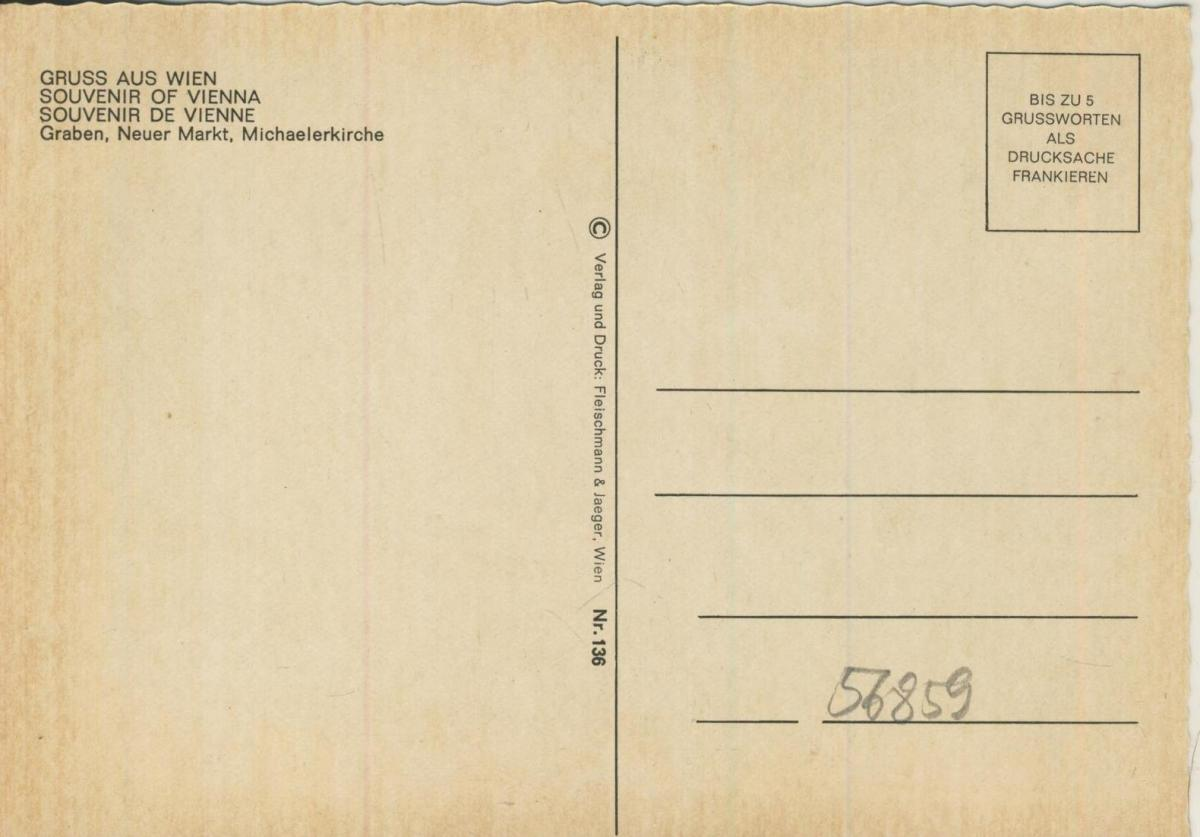 Wien v. 1972  3 Ansichten u.a.