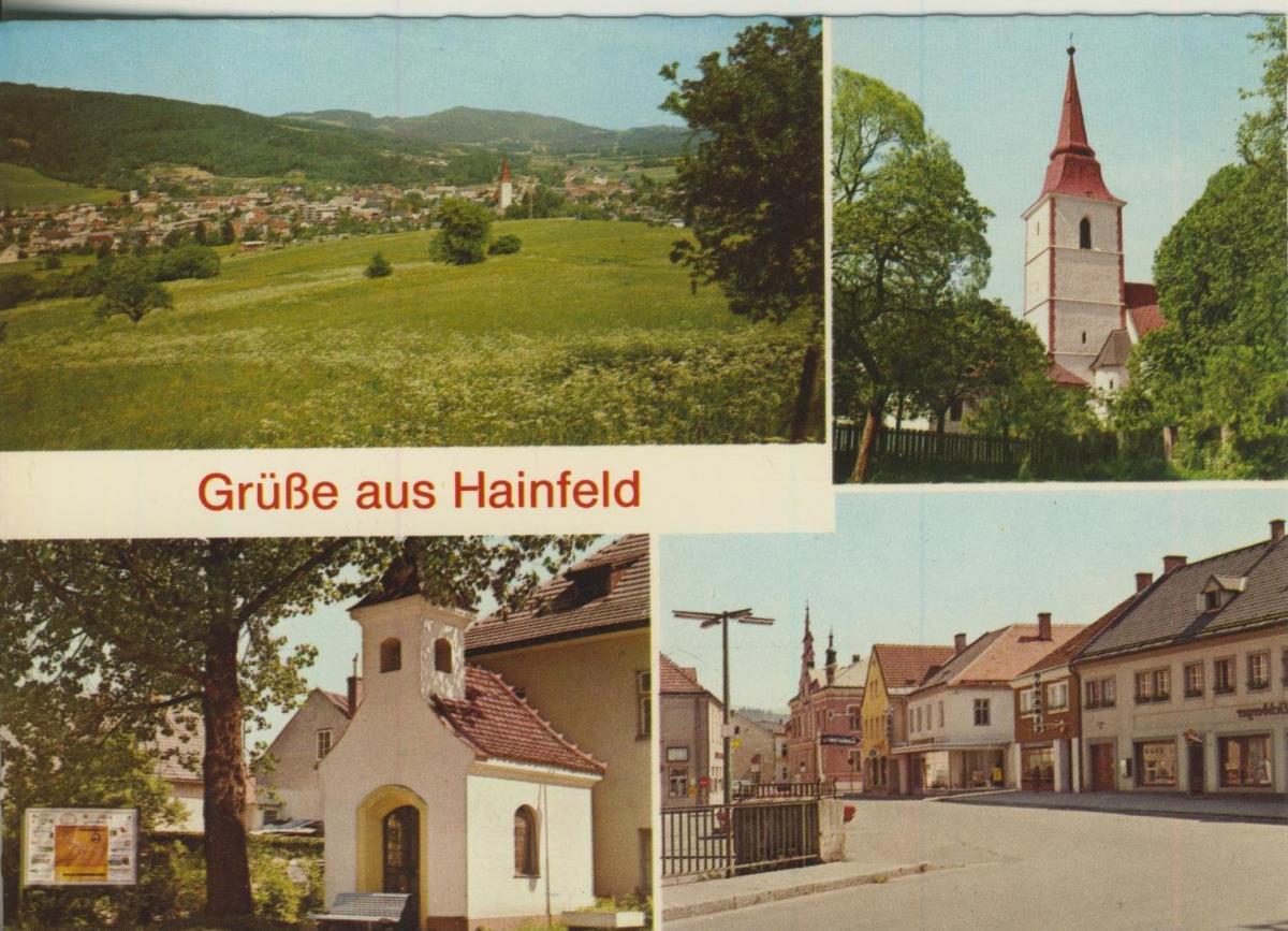 Hainfeld v. 1972  4 Ansichten  (56860) 0