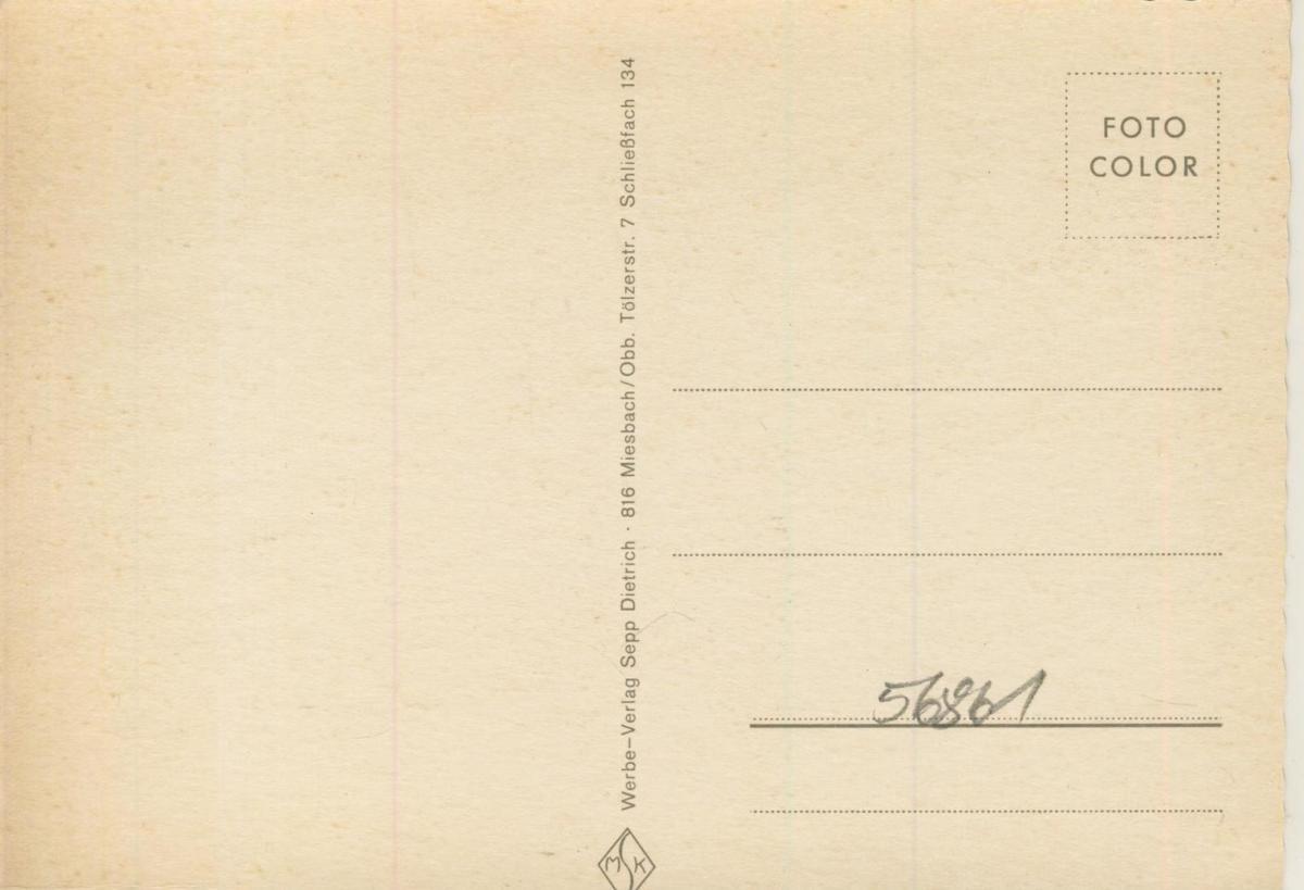Hundham im Leitzachtal v. 1968  3 Ansichten u.a. Hatzlstüberl  (56861) 1