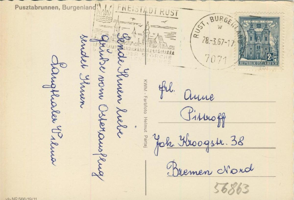 Rust v. 1967  Pusztabrunnen  (56863) 1
