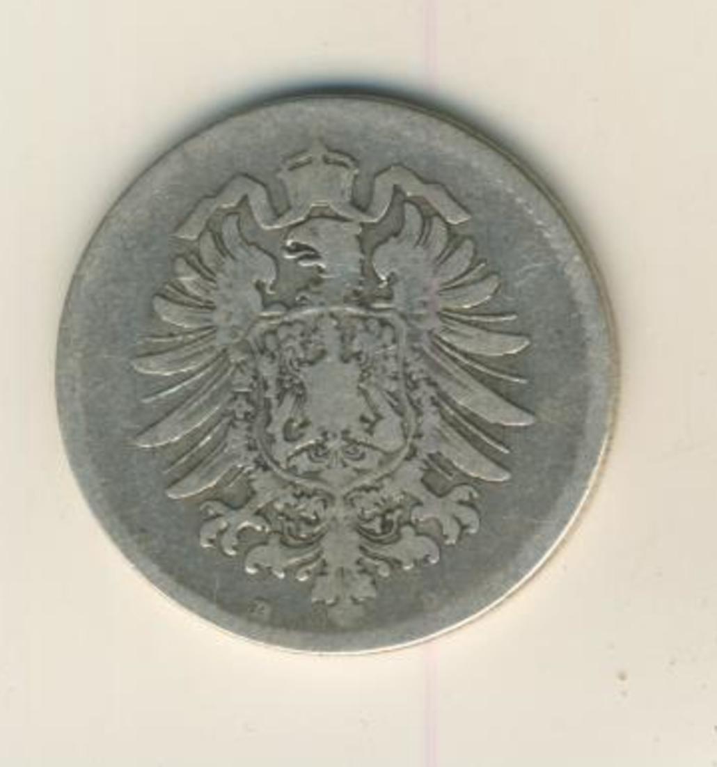 1 Mark 1874,D, KAISERREICH, Silber (33) 1