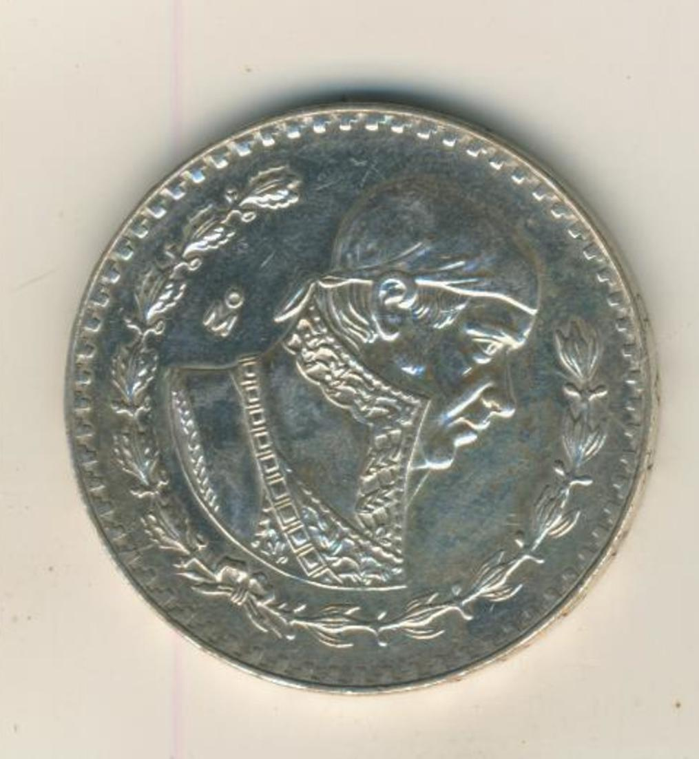 Mexiko, Peso, 1966, Mexico City, Silber (37) 0