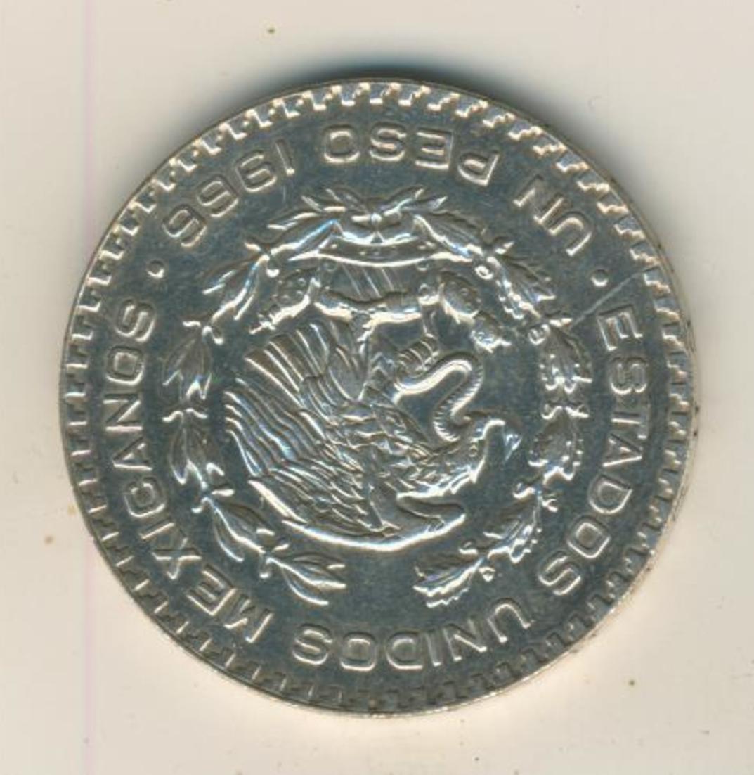 Mexiko, Peso, 1966, Mexico City, Silber (37) 1