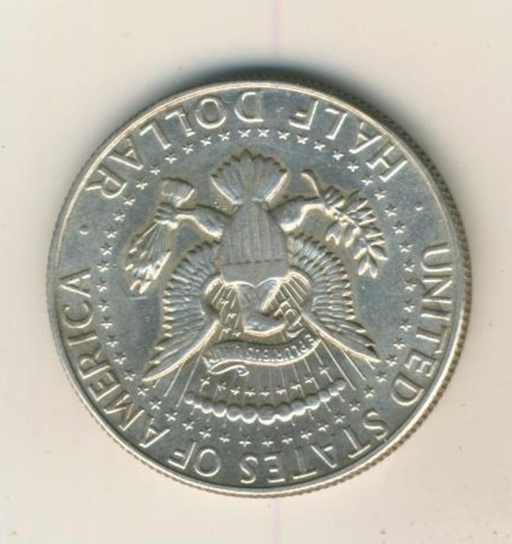 Half Dollar 1967 John F Kennedy United States, Silber (40) 1