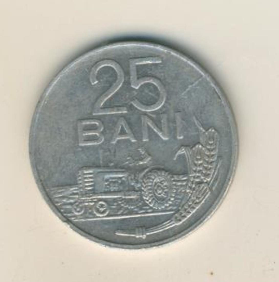 25 BANI MÜNZE, REPUBLICA SOCIALISTA ROMANIA 1982  (42) 0