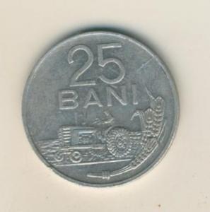 25 BANI MÜNZE, REPUBLICA SOCIALISTA ROMANIA 1982  (42)