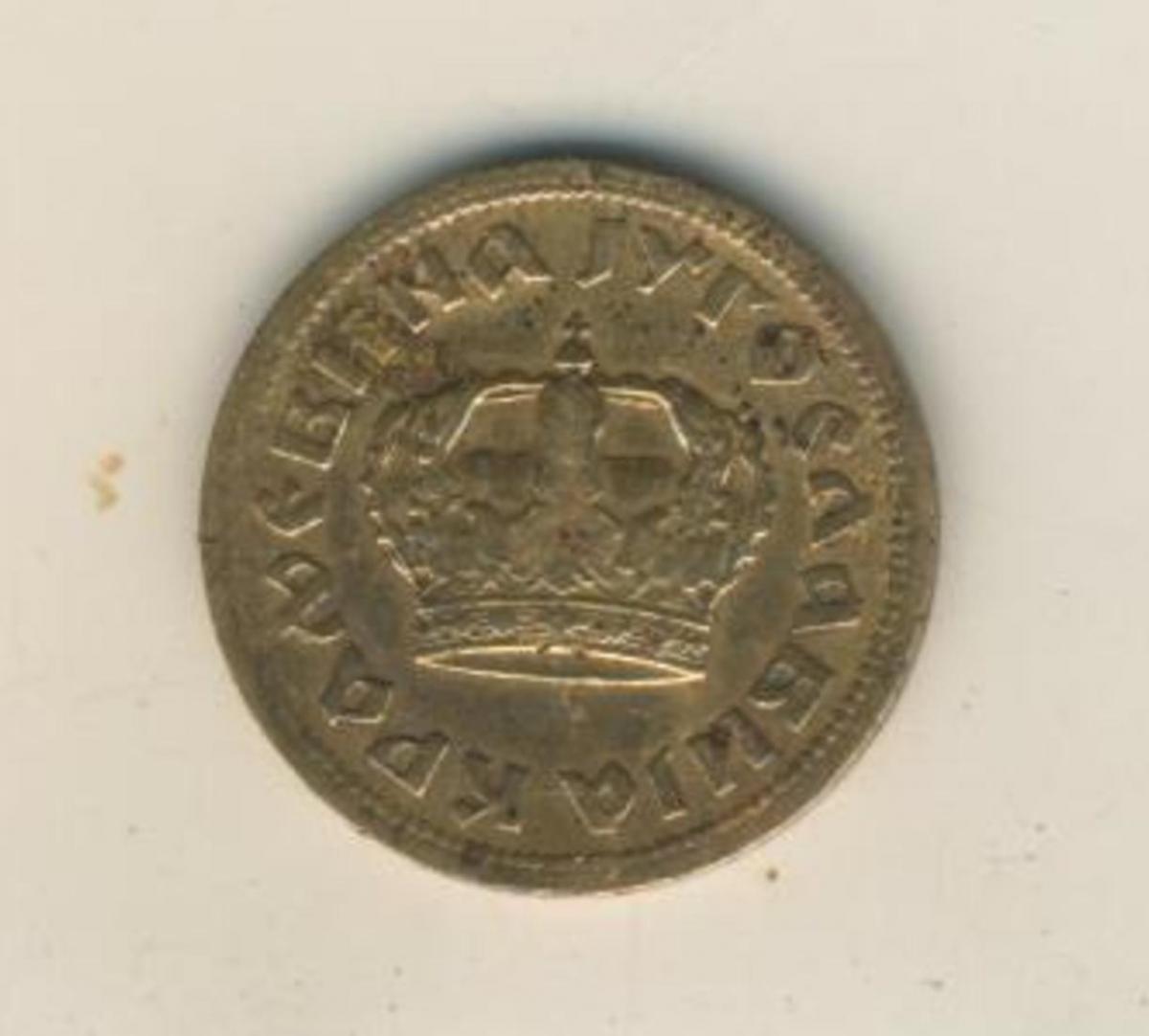 50 Para 1938 Jugoslawien  (45) 1