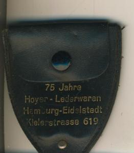 Hamburg-Eidelstedt,75 Jahre Hoyer Lederwaren,mit Klappbare Schere (64)