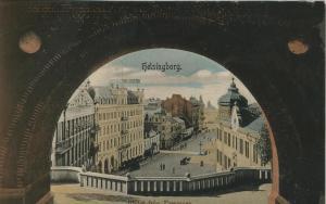 Helsingborg v. 1906  Utsigt fran Terrassen  (57104)