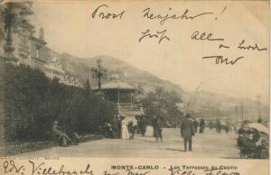 Monte Carlo v. 1901  Les Terrasses du Casino  (57111)