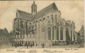 Louvain v. 1903  Eglise St. Pierre   (57110)