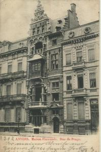 Anvers v. 1902  Maison Flamánde - Rue du Peage  (57113)