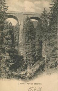 Chesieres v. 1906  Pont de Chesieres  (57435)