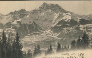 La Dent du Midi v. 1906  Gebirge  (57437)