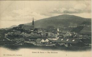 Chatel St. Denis v. 1906 Vue Generale  (57445)