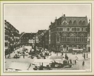 Saarbrücken v. 1912  Sankt Johanner Markt  (57505)