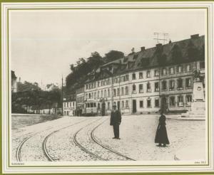 Saarbrücken v. 1912  Der Schloßplatz  (57508)