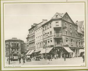 Saarbrücken v. 1925  Ecke Bahnhof- und Viktoriastrasse  (57509)