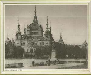 Bremen v. 1898  Parkhaus im Bürgerpark  (57562)