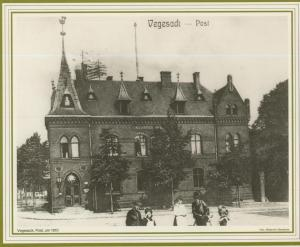 Bremen=Vegesack v. 1910 Die Post  (57564)