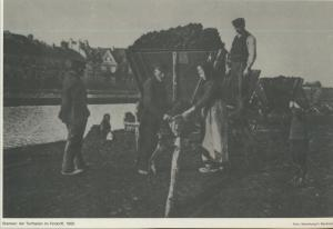 Bremen v. 1910  Am Torfhafen im Findorff  (57569)