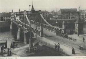 Bremen v. 1906  Große Weserbrücke  (57570)