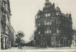 Bremen v. 1910  Sparkasse, Ecke Fehrfeld - Vor dem Steintor  (57572)