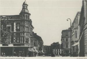 Bremen v. 1900  Ostertorsteinweg / Ecke Contrescarpe  (57573)