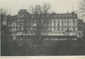 Bremen v. 1935  Hillmanns Hotel am Herdentor, Cafe zur Mühle  (57578)