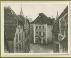Osnabrück v. 1906  Hegerstrasse mit Gasthof