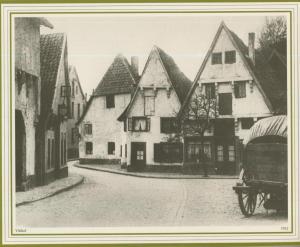 Osnabrück v. 1912  Vitihof mit Kutsche  (57584)