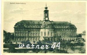 Schloß Hubertusburg v. 1927 -- siehe Foto !!  (32811)
