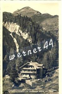 Obersulzbachtal v. 1935  Alpengasthaus Berndalm -- siehe Foto !!  (32812)