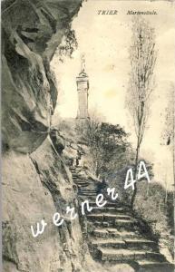 Trier v. 1915  Mariensäule  -- siehe Foto !!  (32814)