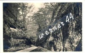 Eisenach v. 1922  In der Landgrafenschlucht  -- siehe Foto !!  (32818)
