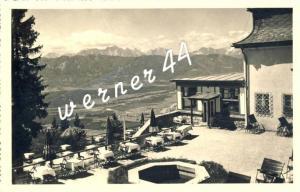 Julische Alpen v. 1937  Berghotel Kanzelhöhe -- siehe Foto !!  (32836)
