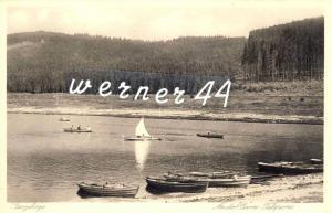 Isergebirge v. 1939  An der Darre Talsperre-- siehe Foto !!  (32873)