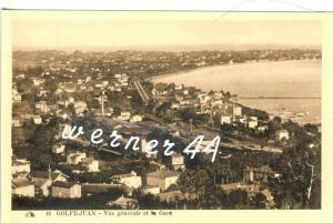 Golfe-Juan v. 1934  Teil-Stadt-Ansicht -- siehe Foto !!  (32879)