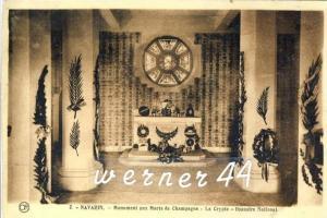 Navarin v. 1918  Monument aux Moris de Champagne -- siehe Foto !!  (32913)