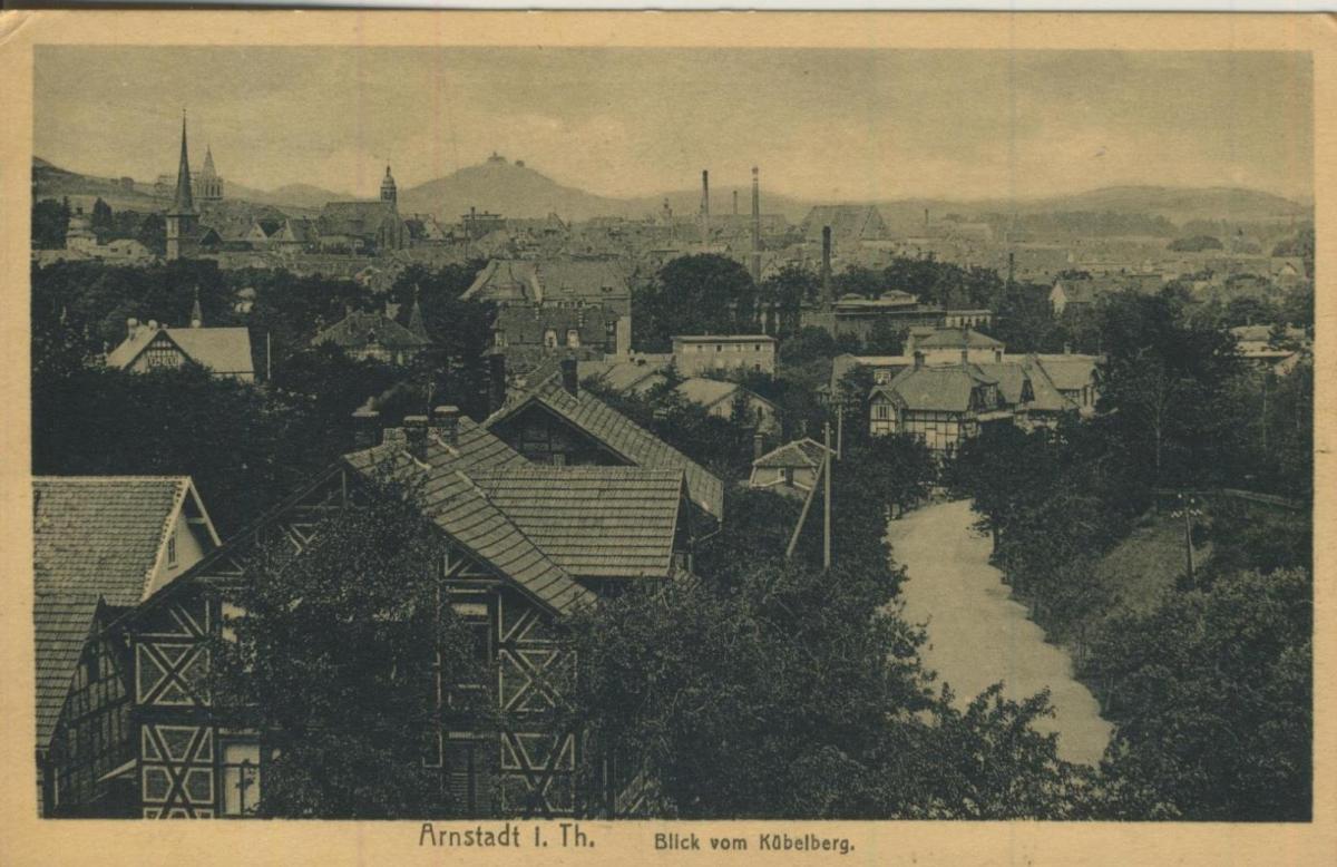 Arnstadt v. 1926  Blick vom Köbelberg (57699-11) 0