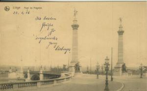 Liege v. 1916  Pont de Fragnnee  (57766)